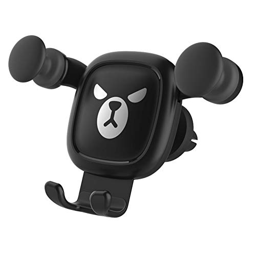 YANGSANJIN mobiele telefoonhouder auto, universele telefoonhouder 360 graden instelbaar ventilatiegleuf autohouder compatibel met iPhoneXs/Xr/X/8/7/6, Samsung S9/S8/S7, Note 9/8