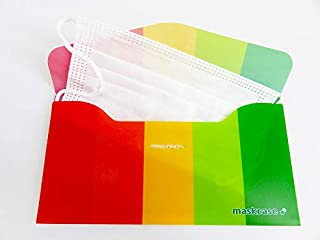 マスクケース 抗菌加工 マルチカラー マスク入れ マスク携帯ケース マスク持ち運び maskcase