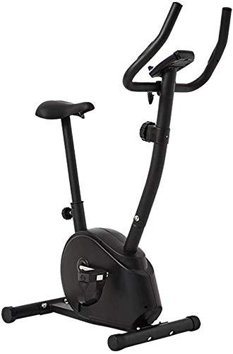 Ancnan Home Spin Bike Vélo d'exercice Indoor Fitness Tapis Roulant Équipement de Perte de Poids à Domicile Équipement d'exercice de Gymnastique Surveillance de la fréquence Cardiaque 8 Niveaux de r
