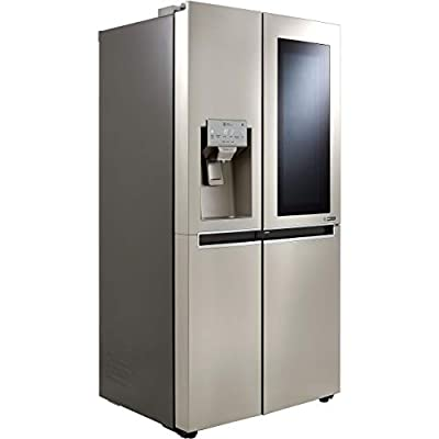 LG InstaView™ Door-in-Door™ GSX960NSVZ American Fridge Freezer - Stainless Steel