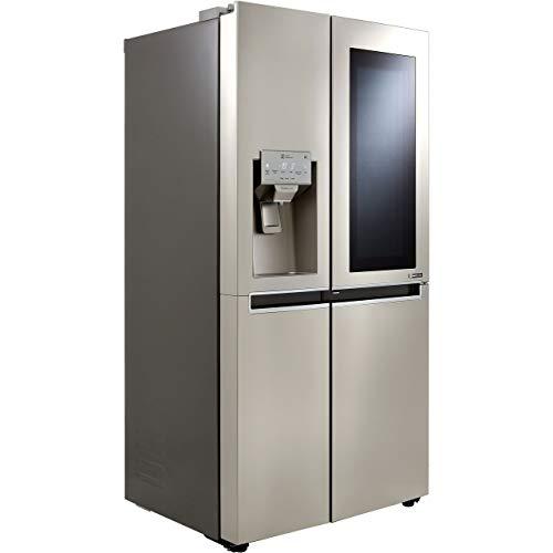 LG InstaView Door-in-Door GSX960NSVZ American Fridge Freezer - Stainless Steel