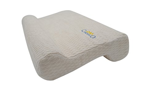 La almohada cervical, soporte para el cuello, Cojín cervical