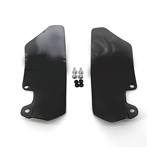 JIEYANG WANGml Motorcycle Windshield Windscreen Deflector de Viento Ajuste para BMW R1200GS R 1200 GS R1200 ADV K51 Adventure 2004-2012 Handshield Handguard (Color : Smoke)
