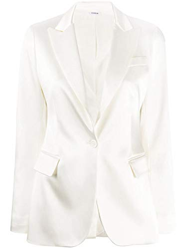 Luxury Fashion | P.a.r.o.s.h. Dames ALICED420053002 Wit Acetaat Blazers | Lente-zomer 20