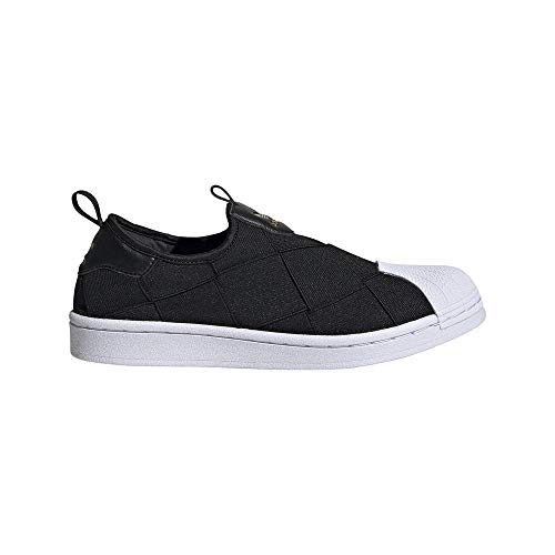 Tênis Adidas Superstar Slip On Feminino Fv3187, Cor: Preto/branco, Tamanho: 34