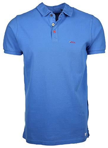 NZA New Zealand Poloshirt Blau M