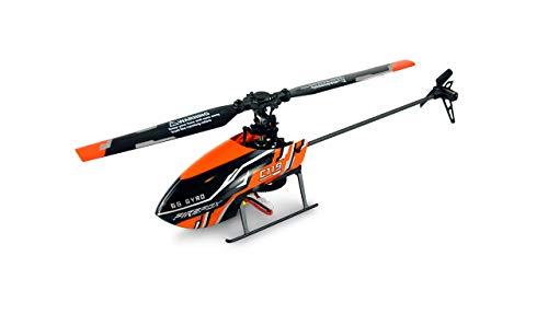 Amewi 25312 AFX4 Single-Rotor Helikopter 4-Kanal 6G RTF 2,4GHz RC Hubschrauber, Schwarz-orange