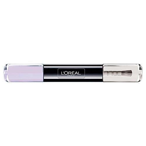 L'Oréal Paris Indefectible Nagellak 2-in-1 Top Coat en onderlak in zacht beige 043 Endless Candyheart