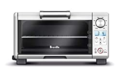 Breville the Compact Smart Oven, Countertop Electric Toaster Oven BOV650XL