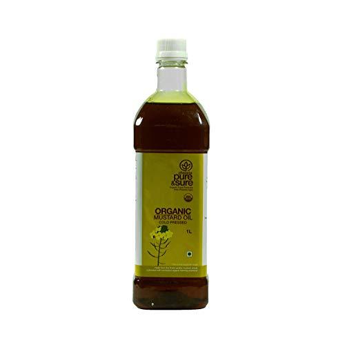 Pure & Sure Organic Mustard Oil, 1L