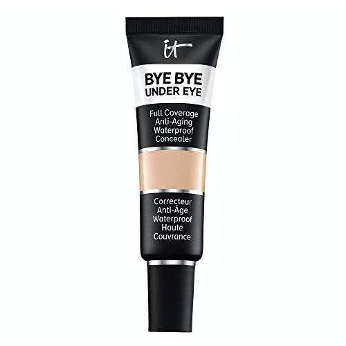 of it cosmetics concealers IT Cosmetics Bye Bye Under Eye, 20.0 Medium (N) - Full-Coverage, Anti-Aging, Waterproof Concealer - Improves the Appearance of Dark Circles, Wrinkles & Imperfections - 0.4 fl oz