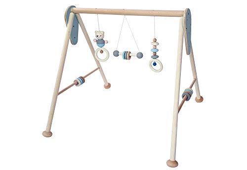 Hess Babyspielgerät Holz nature blue
