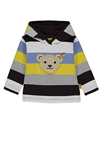 Steiff Steiff Baby-Jungen 1/1 Arm Sweatshirt, Mehrfarbig (Y/D Stripe|Multicolored 0001), 68