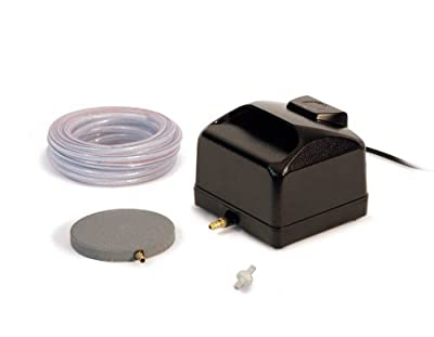 Atlantic Water Gardens Air Pump Kit for Ponds with Tubing and Stone