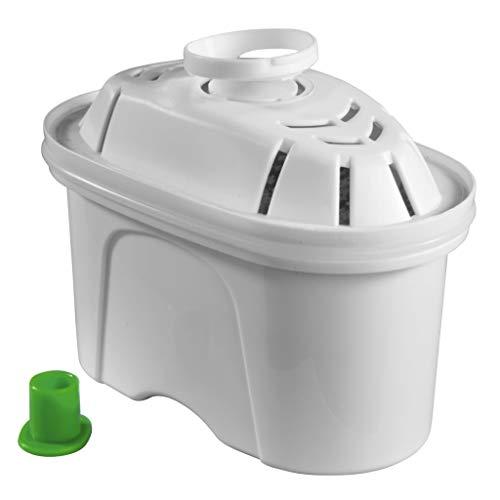 Xavax Wasserfilterkartuschen, 6er-Pack für Filterkannen von Brita und BWT (Tischwasserfilter, Ersatz-Kartusche/Filterpatrone)