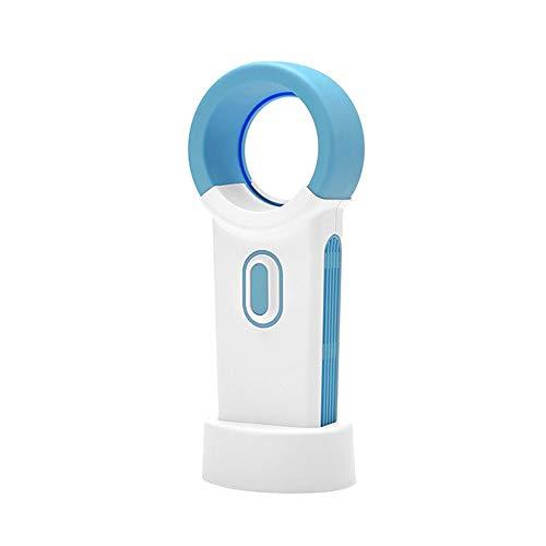 PULLEY Ventilador sin aspas USB, mini ventilador portátil al aire libre de carga pequeño ventilador de mesa adecuado para el hogar, dormitorio, habitación del bebé, oficina al aire libre