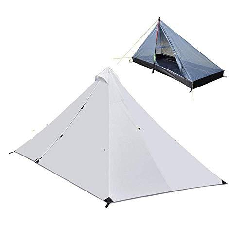 テント ワンポールテント 一人用 キャンプテント 簡単設営 防水 (ポールは別売)