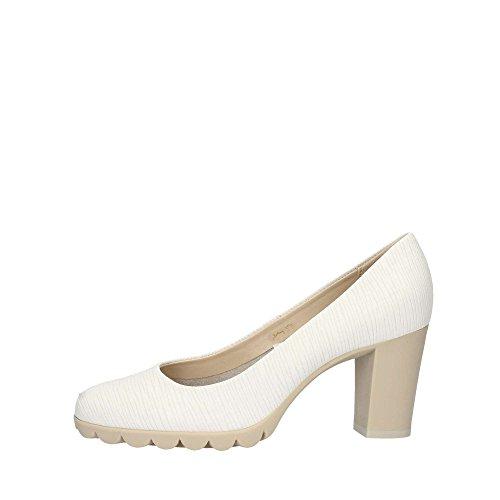 The Flexx Diplo Matic Chaussures à Talon Femme Blanc 36