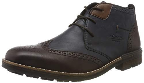Rieker Herren B1343 Klassische Stiefel, Rot (Violetrouge/Ozean/Wood 35), 45 EU