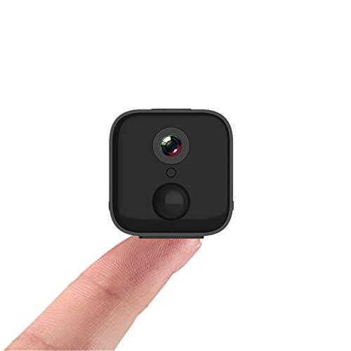 Mini cámara WiFi S21 vigilancia remota 1080P HD Monitorización inalámbrica PIR Detección dinámica humana Trigger grabación y alarma, visión nocturna inalámbrica webcam intercom voz