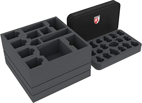 Feldherr Schaumstoff-Set kompatibel mit Gloomhaven mit Mini Minus Tasche