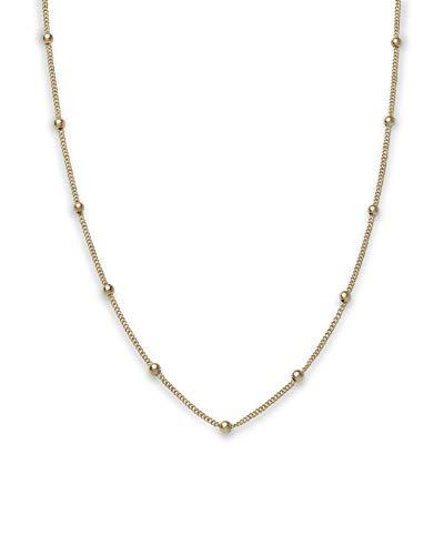 Rosefield Damen Kugel Halskette Gold JDCHG-J057