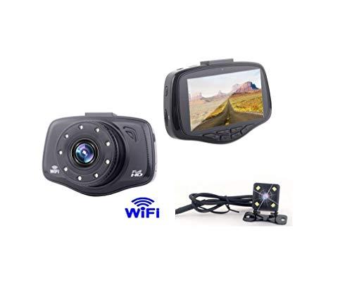 WiFi Téléphone Mobile De Contrôle sans Fil Dash Cam, 1080P Full HD Voiture Tableau De Bord Caméra 3\