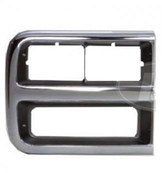Go-Parts - for 1992 - 1995 Chevrolet G10 Headlight Door - Right (Passenger) Side - (Beauville 5.0L, 4.3L Extended Passenger Van + Chevy Van 5.0L, 4.3L Standard Cargo Van + Chevy Van 5.0L, 4.3L