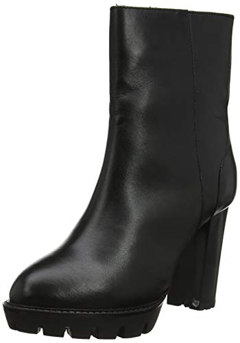 Pepe Jeans London Damen Vernon Basic Stiefeletten, Schwarz (Black 999), 39 EU