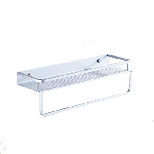ZHENYANG Aluminio del Espacio de la Cocina Rack Bandeja de baño Toalla de baño de Almacenamiento Libre de Punch-Colgante de Hardware