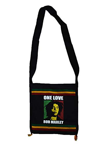 Wigwam Umhängetasche Rasta Bob Marley One Love