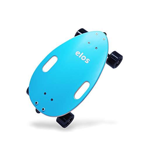 elos Skateboard komplett leicht - Mini Longboard kreuzer Skateboard