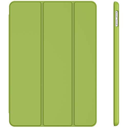 JETech Custodia Compatibile con iPad 8 7 (10.2 Pollici, 2020 2019 Modello, 8 7 Generazione), Cover con Auto Svegliati Sonno, Verde