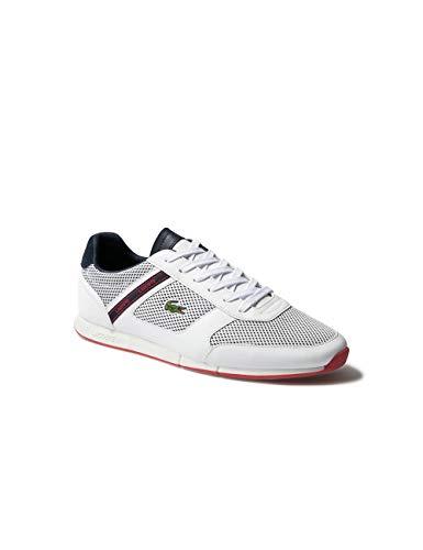 Lacoste Mens 739CMA0015042_43 Sneaker, White, EU