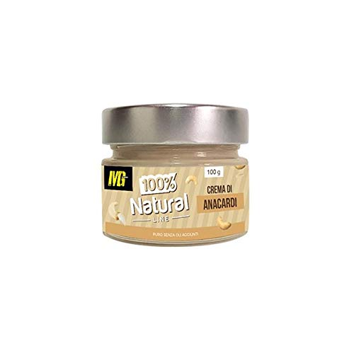 MG FOOD 100% Natural - Crema Di Anacardi 100g