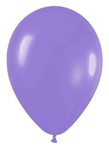 H HANSEL HOME Surtido de globos color lila lavanda (10PCS) Ø 30cm para todo tipo de fiestas, ceremonias y eventos como fiestas de cumpleaños, despedidas de soltero, bodas
