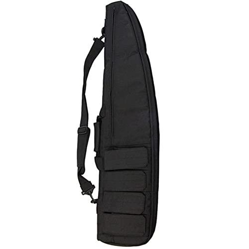 JINGJIN Funda para Rifles | Fundas para escopetas de Caza |Rifle Bolsa | Pistola Bolsa | Bolsa para Rifle con Correa de Hombro Ajustable Funda Flexible para Rifles de Caza,Black-39.4inch