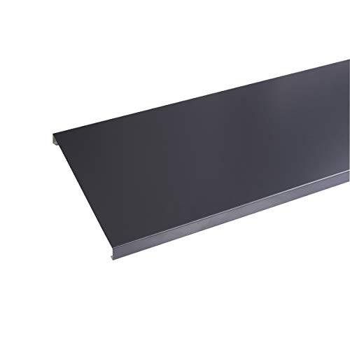 Couvertine aluminium 1 mm Gris Ardoise RAL 7016-2 mètres - 270 mm