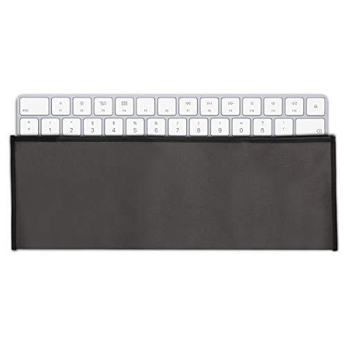 kwmobile Hülle kompatibel mit Logitech MK330 Wireless - PC Tastatur Schutzhülle - Keyboard Staub Cover Case - Dunkelgrau