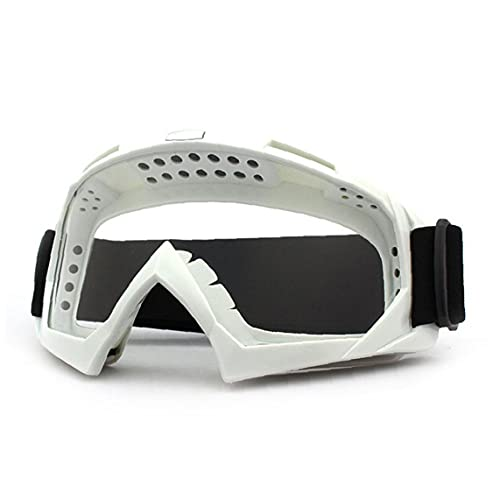 Tuimiyisou Protección UV Aproximina a Prueba De Motocicletas ATV Vidrios Dirt Bike Motocross Safety ATV Motorba Motorbike Gafas para Hombres Mujeres