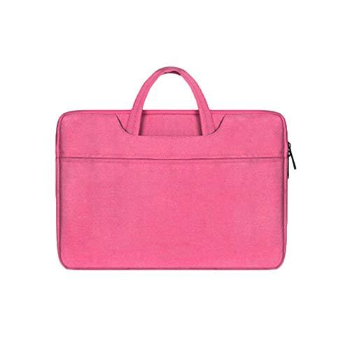 Tragbar Reißverschluss Computer Tasche Für MacBook Notizbuch Ärmeltasche Wasserdicht Und Staubdicht Geschäftsreise Rose 13.3