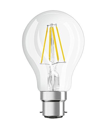 Osram 4058075808430 Ampoule LED Verre 7,00 W B22d Transparent