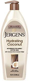 Jergens Hydrating Coconut Dry Skin Moisturizer 400 ml, Pack of 1