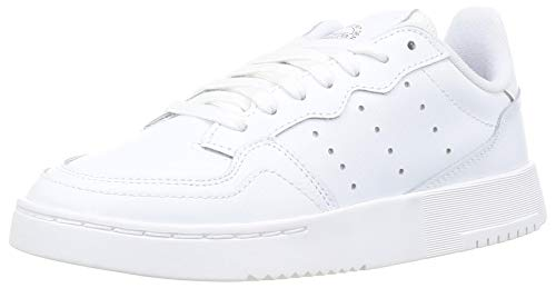 adidas SUPERCOURT J, Zapatillas Deportivas, FTWR White FTWR White Core Black, 36 EU ⭐
