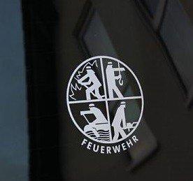 DFV Signet-Konturaufkleber silber, Outdoor/Indoor