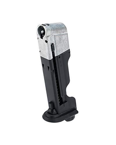 Umarex T4E Walther PPQ .43 Caliber Training Pistol Paintball Gun Marker Magazine, Quick Piercing Black