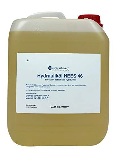 Knaus Schmierstoffe Hydrauliköl HEES 46 5 Liter biologisch abbaubar, 5L Kanister