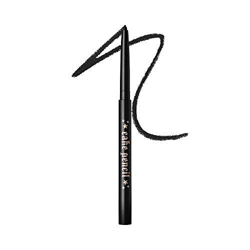 KAT VON D Cake Pencil Eyeliner, Trooper Black - ultra black, Full Size, 0.011 oz