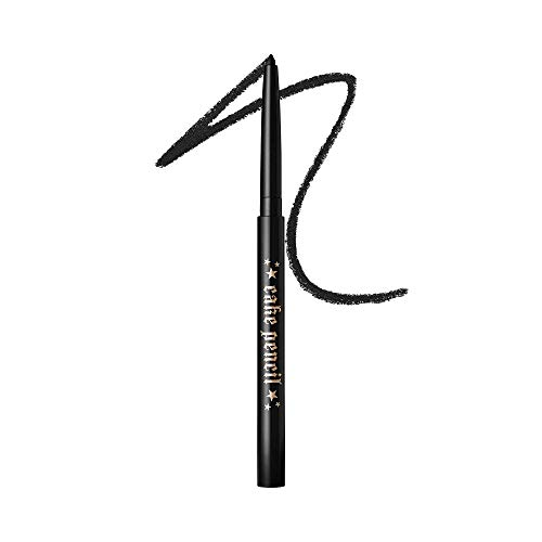 KAT VON D Cake Pencil Eyeliner, Trooper Black - ultra black, Full Size, 0.011 oz