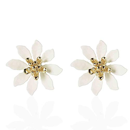 Mothers Day jewellery gifts by Anairys. Bright floral earring studs that also make an excellent choice as birthday gifts, anniversaries, bridesmaid favours and all special occasions.